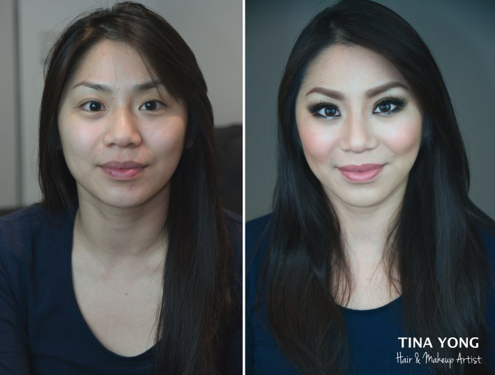 bridal hair & makeup – tina yong