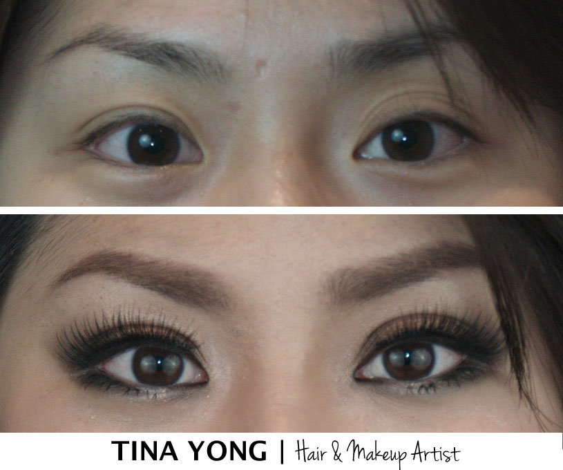 Double Eyelid Makeup Tina Yong
