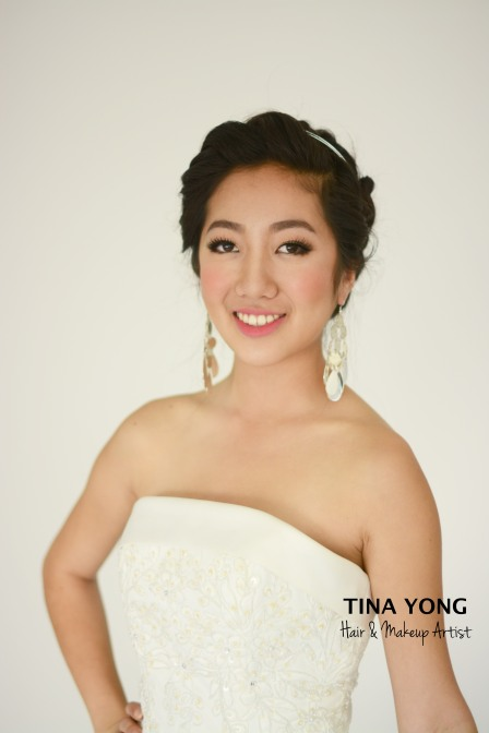 makeup hair by tina yong