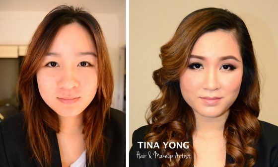 Makeup and Hair by Tina Yong