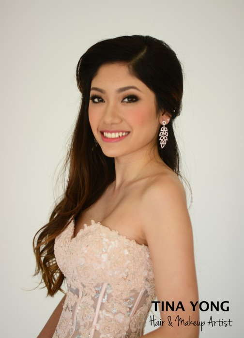 Bridal hair & Makeup Tina Yong