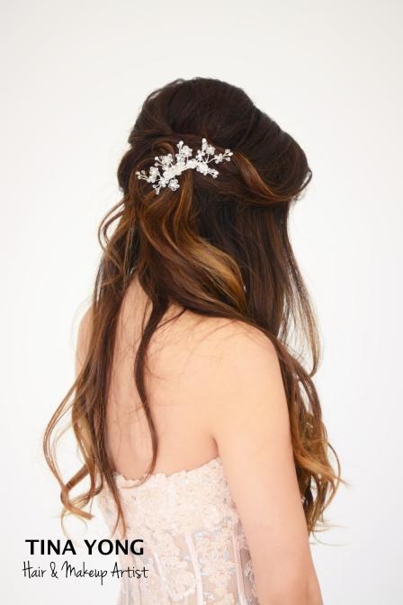 Bridal hair & Makeup Tina Yong