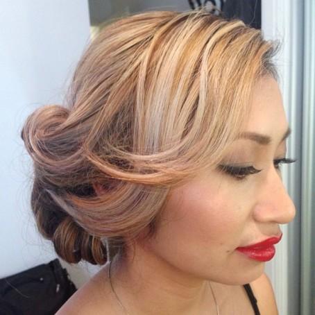 tina yong makeup hair