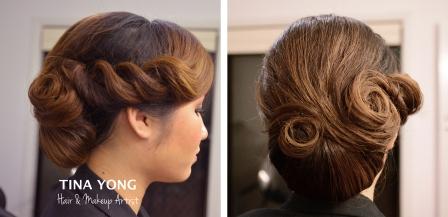 Makeup and Hair by Tina Yong
