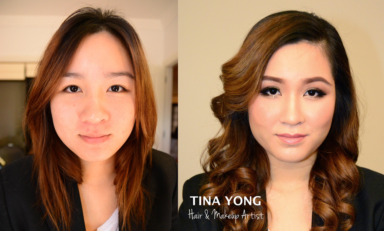 bridal hair amp makeup � tina yong