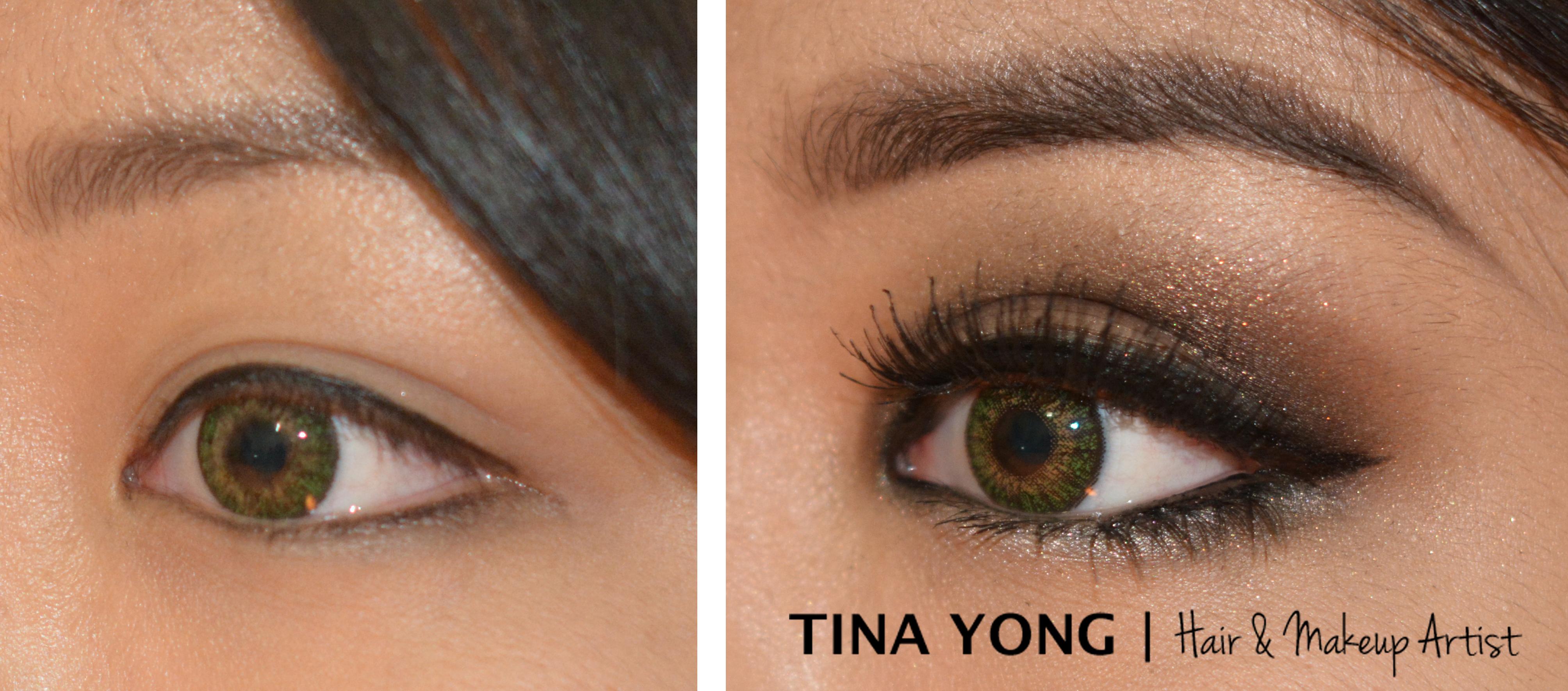 Uneven eyelids tina yong tina yong asian makeup artists sydney baditri Gallery