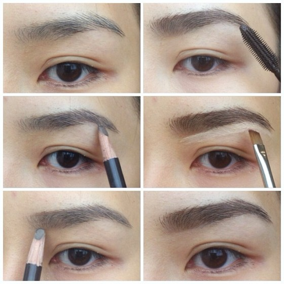 tina yong eyebrow